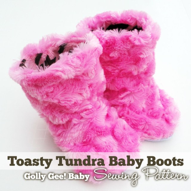 Baby Booties Sewing Pattern Toasty Tundra Ba Boots Sewing Pattern Golly Gee Ba Diy Ba