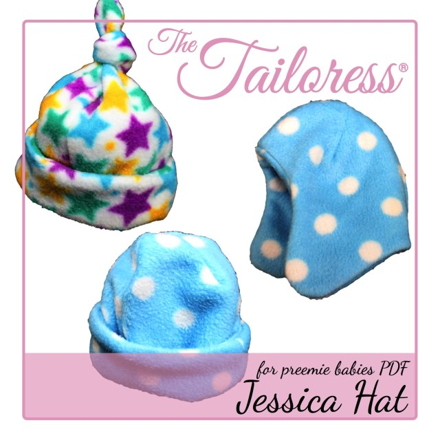 Baby Hat Sewing Pattern Jessica Preemie Ba Hat Pdf Sewing Romance The Tailoress