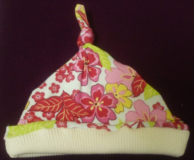 Baby Hat Sewing Pattern Sewing For Ba Knotted Hat Tutorial