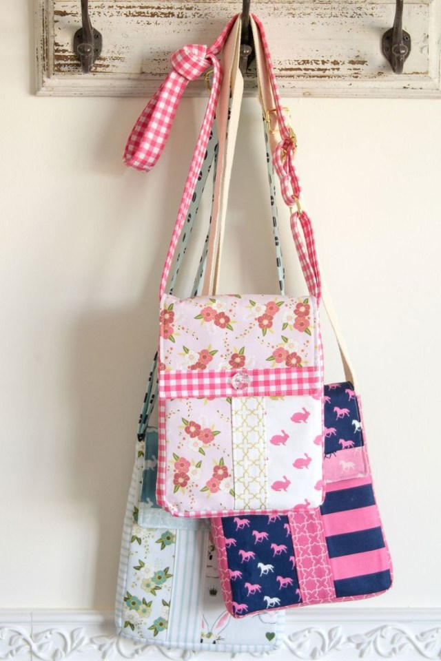 Bag Sewing Patterns Cross Body Bag Sewing Pattern Bloggers Best Diy Ideas Sewing