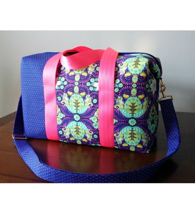 Bag Sewing Patterns Emblem Duffle Bag Sew Sweetness