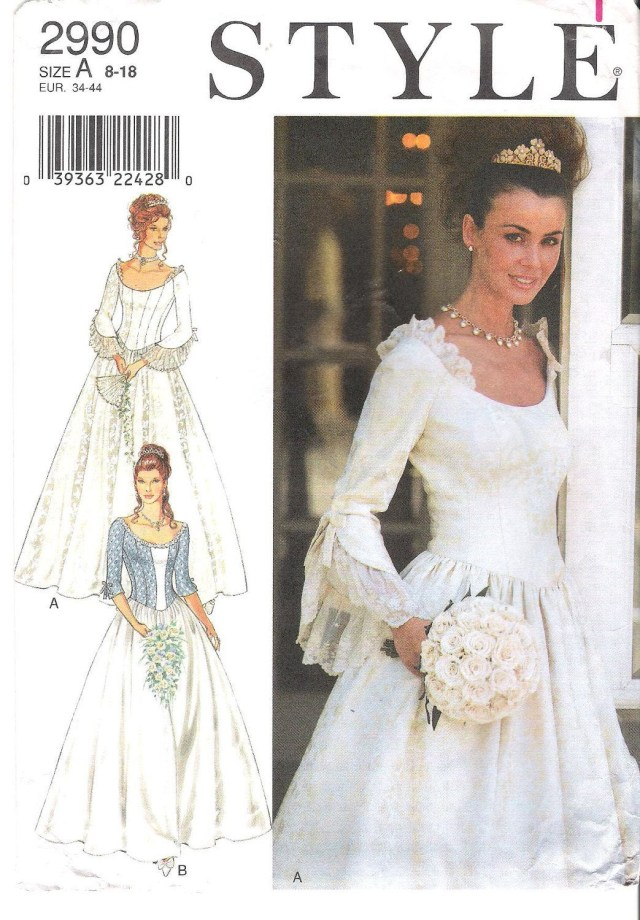 Ball Gown Sewing Patterns Lovely Princess Style Scoop Neck Wedding Dress Bridesmaid Dress
