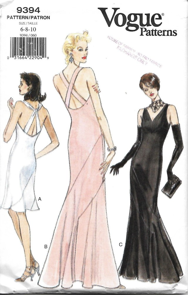 Ball Gown Sewing Patterns Vogue 9394 Misses Evening Gown Sewing Pattern Size 6 8 10 In 2018