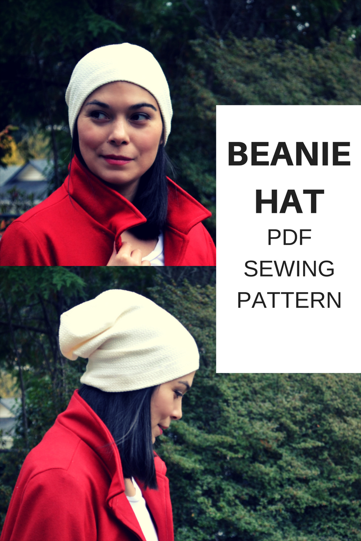 Beanie Hat Pattern Sewing Beanie Hat Free Sewing Pattern On The Cutting Floor Printable Pdf