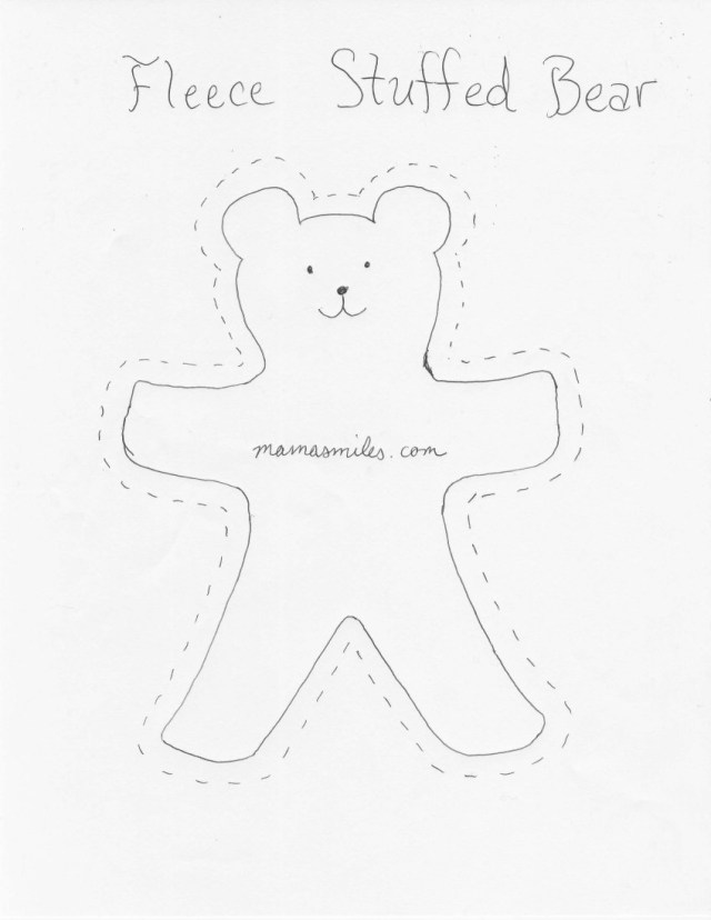 Bear Sewing Pattern Free Easy Sew Patterns Great For Beginners