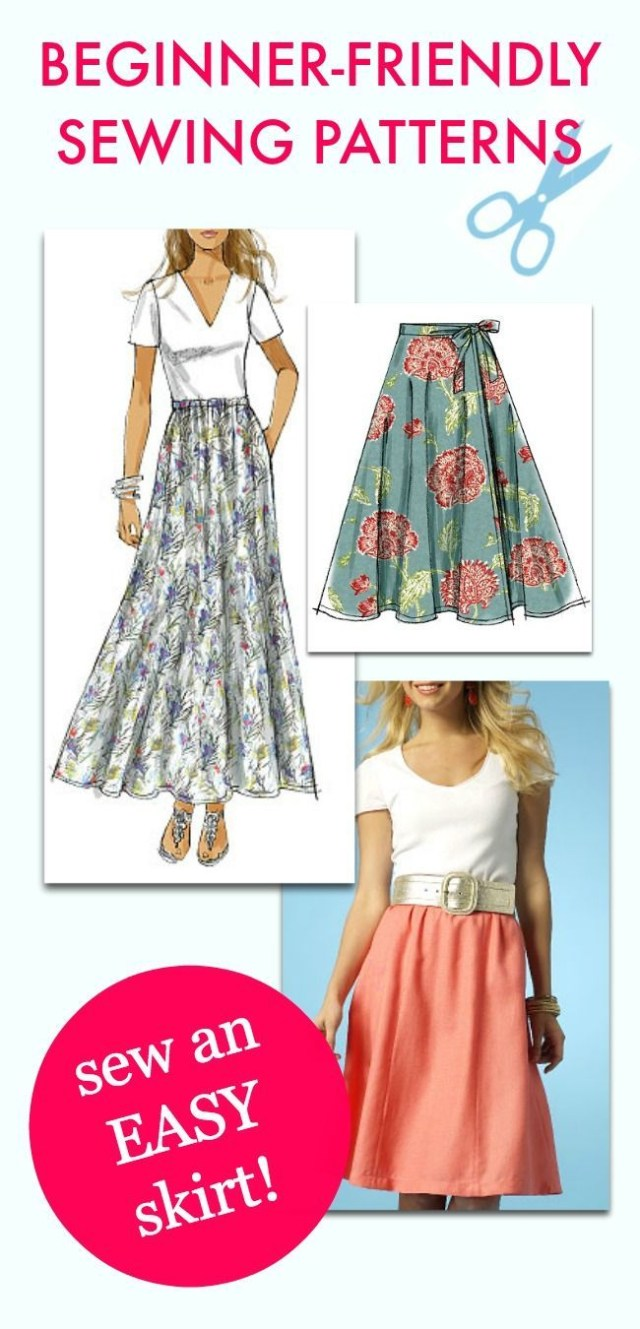 Beginner Sewing Patterns 50 Sewing Projects For Beginners Sewing Patterns Patterns And Easy