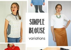 Blouse Pattern Sewing Simple Running With Scissors Simple Blouse Pdf Sewing Pattern Free