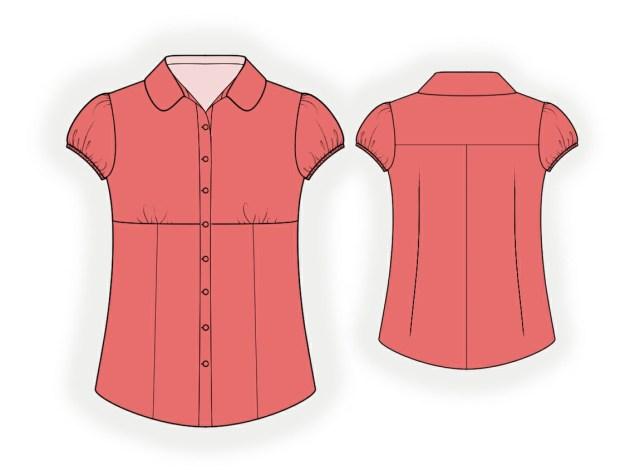Blouse Sewing Patterns Blouse Sewing Pattern 4059 Made To Measure Sewing Pattern From