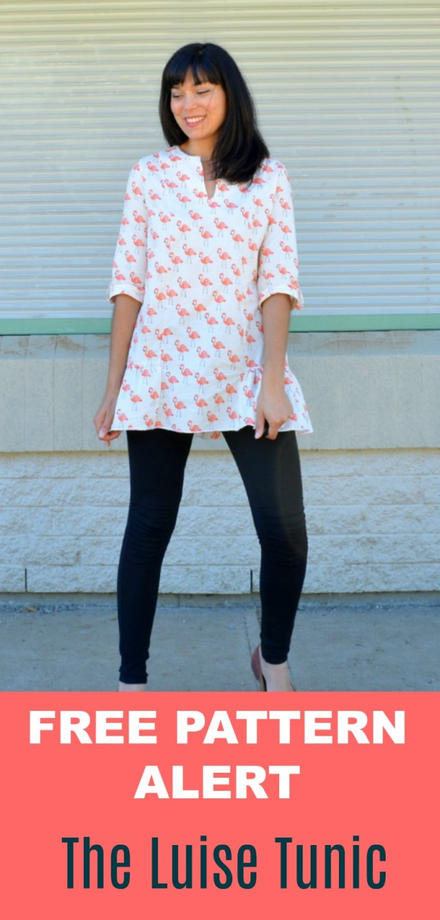 Blouse Sewing Patterns Free Pattern Alert The Luise Tunic Pdf On The Cutting Floor