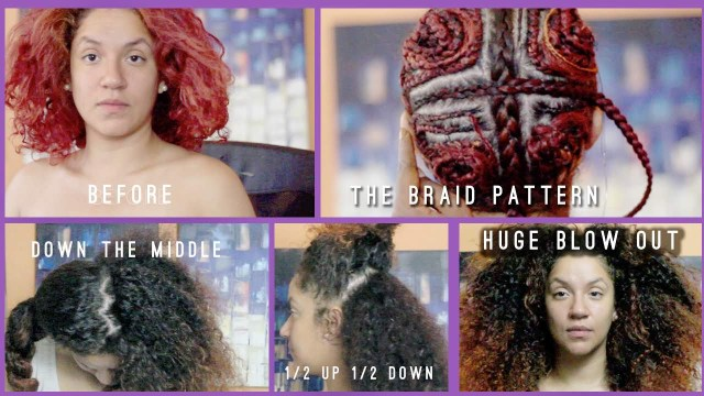 Braid Pattern For Middle Part Sew In 3 Reasons You Should Not Get A Vixen Sew In