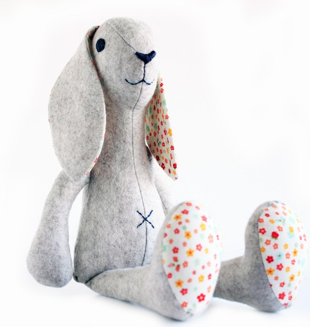 Bunny Sewing Pattern Bunny Rabbit Sewing Pattern Stuffed Toy Sewing Pattern