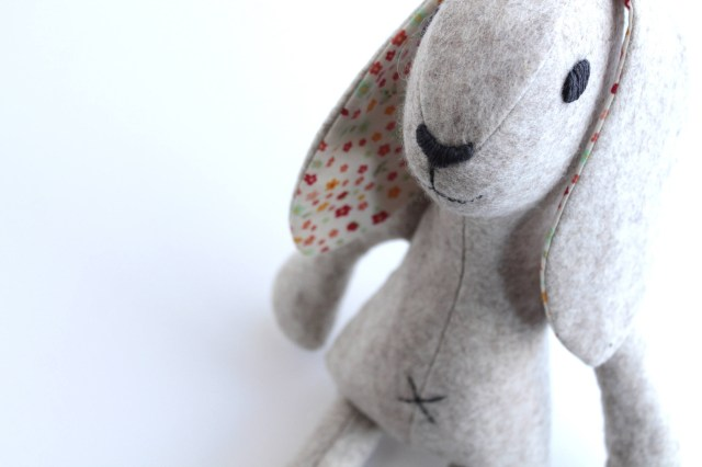 Bunny Sewing Pattern Rabbit Sewing Pattern Pdf For Instant Download Bunny Rabbit Diy