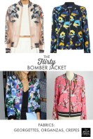 Cardigan Pattern Sewing Diy Bomber Jacket Sew Along Fabrics Ribbing Zippers Mccalls Social