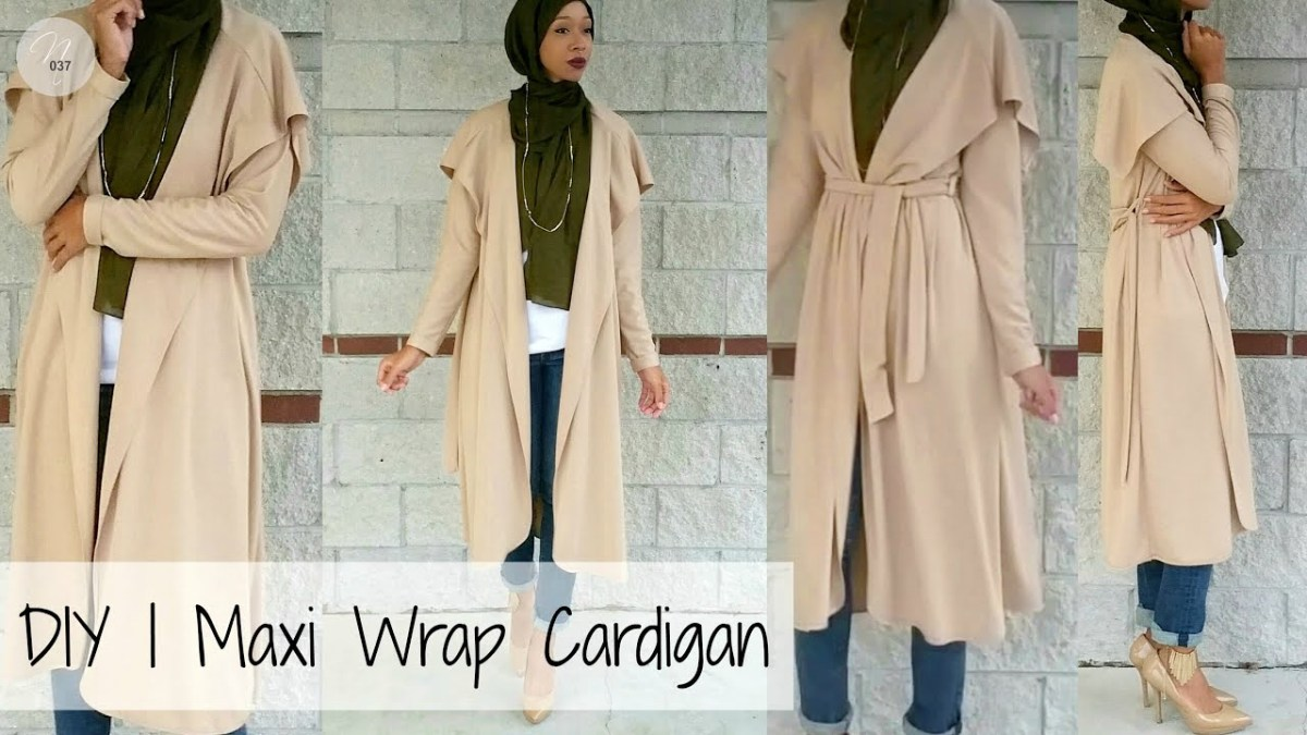 Cardigan Pattern Sewing Diy Nadira037 Diy How To Make A Cardigan Pattern Included Youtube