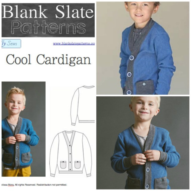 Cardigan Sewing Pattern Blank Slate Cool Cardigan Childs Cardigan Downloadable Pattern