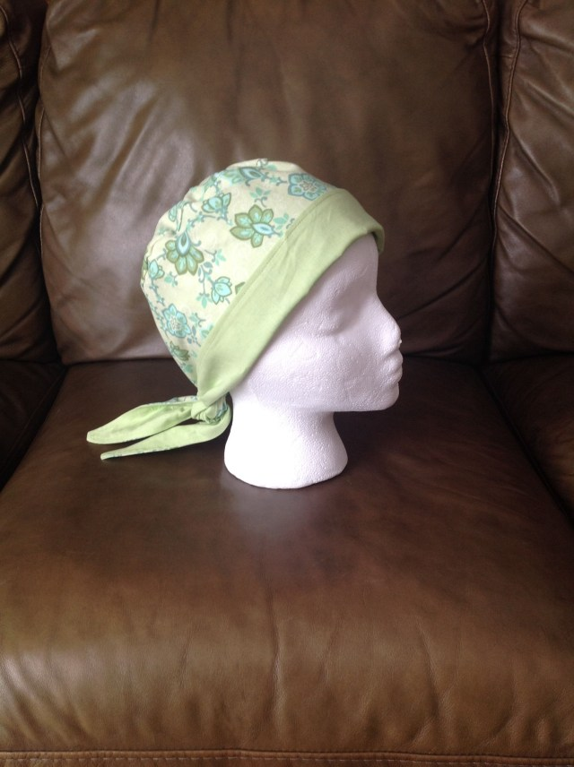 3eae548ad17 Chemo Caps Sewing Patterns Reversible Chemo Hat I Made With Free Pattern  Found At Brimming With