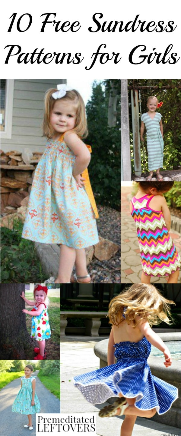 Childrens Sewing Patterns 10 Free Sundress Patterns For Girls Sewing Patterns And Tutorials