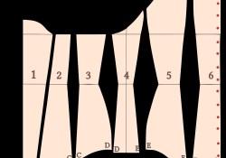 Corset Sewing Pattern Fileunderbust Corset Clothing Patternssvg Corsets Pinterest