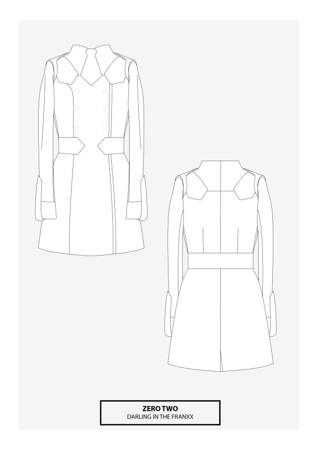 Cosplay Sewing Patterns Zero Two Cosplay Sewing Pattern Cosplay Pinterest Cosplay