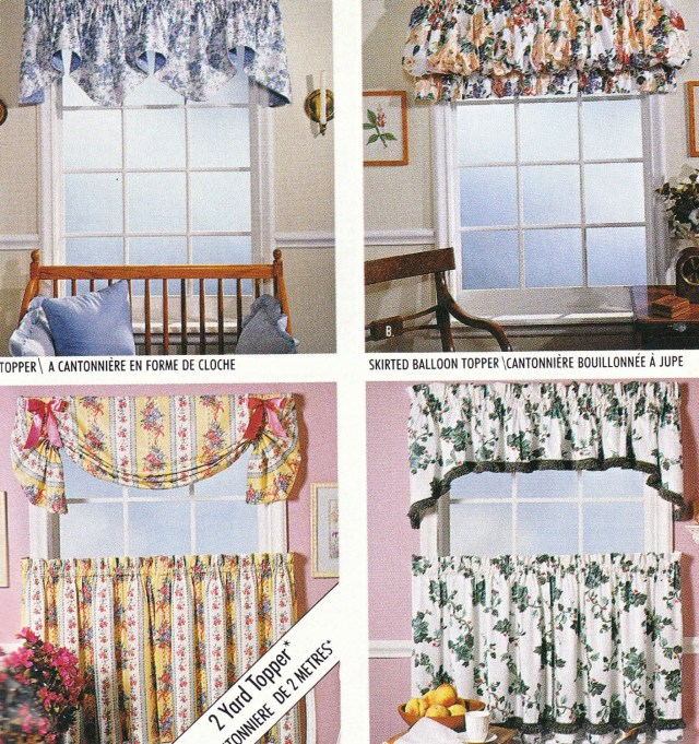 Curtain Sewing Patterns Vintage Curtains Sewing Pattern Mccalls 733 Home Dec In A Sec