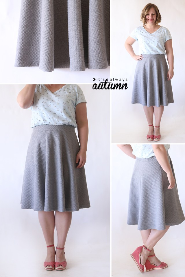 Dance Skirt Sewing Pattern Easy Half Circle Skirt Sewing Tutorial Make A Pattern In Any Size
