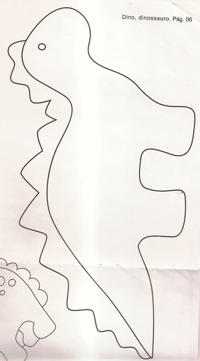 Dinosaur Sewing Pattern Pattern For Felt Dinosaur Dinos Dragons Pinterest Felt