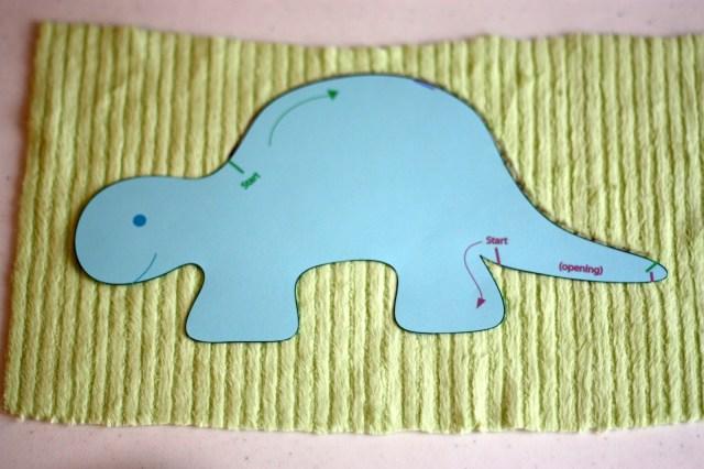 Dinosaur Sewing Pattern Tutorial How To Make A Dinosaur Stegosaurus Taggie Doll