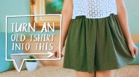 Diy Sewing Projects Clothes Diy Clothes Hack Transform A Tshirt Into A Skirt Easy Sewing
