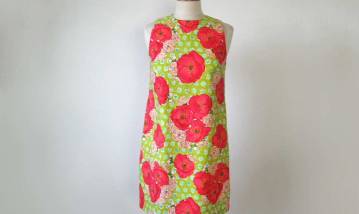 Diy Sewing Projects Clothes How To Sew Your First Dress A Step Step Photo Tutorial