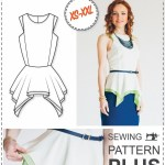 Dress Patterns Sewing Projects Peplum Top Pattern Blouse Patterns Sewing Tutorials Etsy