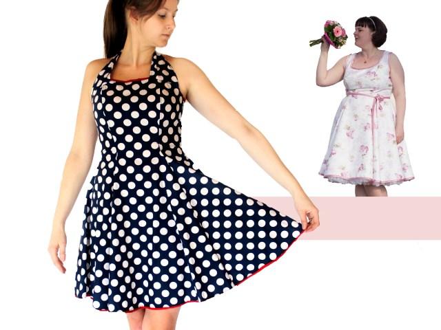 Dress Sewing Patterns Women Dress Pdf Sewing Pattern Anninanni Dress