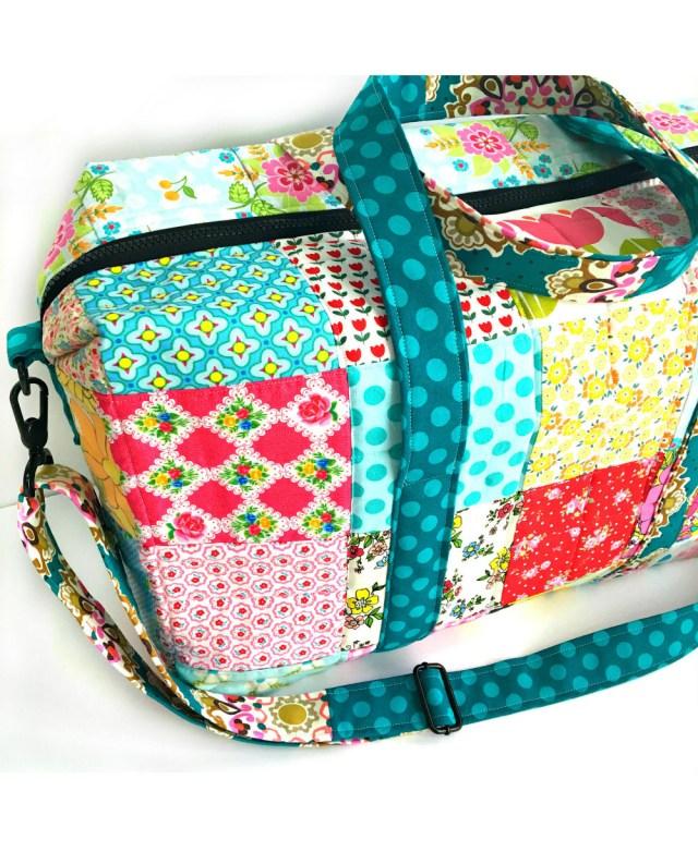 Duffle Bag Sewing Pattern Emblem Duffle Bag Sew Sweetness