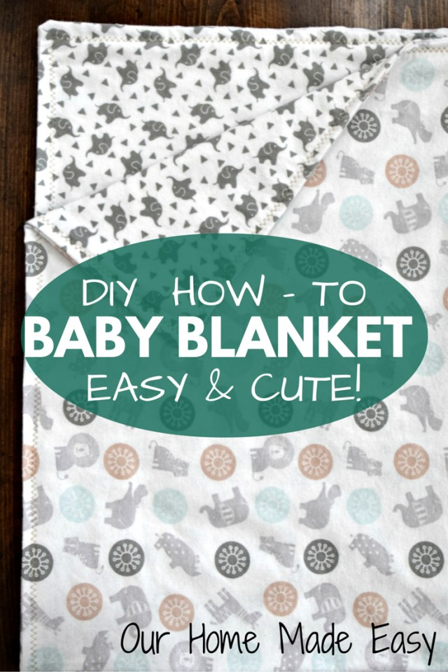 Easy Baby Blanket Sewing Patterns For Beginners How To Make Easy Ba Blankets Two Toddlers Pinterest Sewing