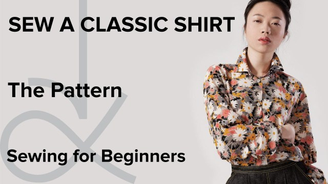 Easy Blouse Sewing Pattern How To Sew A Shirt Sewing For Beginners Part 1 Youtube