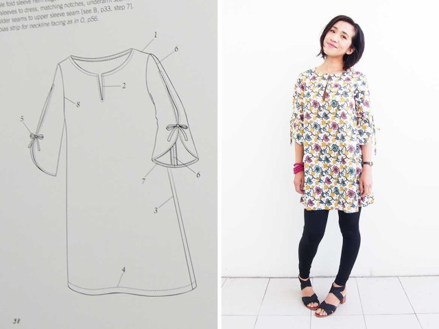 Easy Blouse Sewing Pattern Tunic Dress Is This The Best Japanese Sewing Pattern Maker Sew