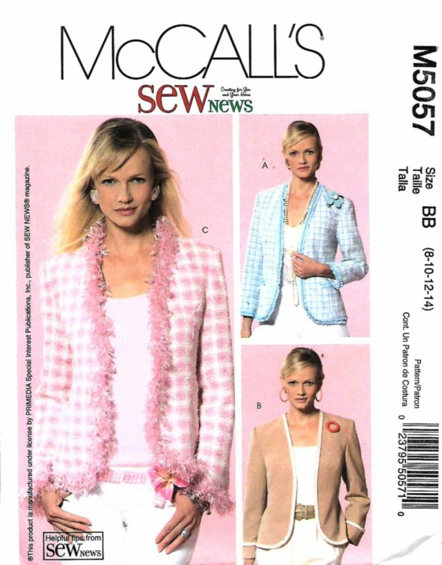 Easy Sew Patterns Mccalls Sewing Pattern 5057 Misses Size 8 14 Easy Sew News Classic