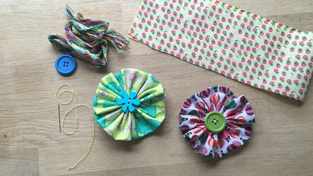 Easy Sewing Patterns For Beginners Easy Fabric Flower A Great Sewing Pattern For Beginners Youtube