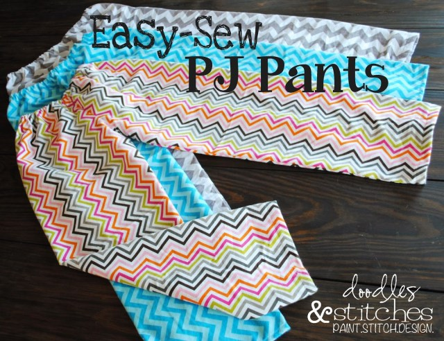 Easy Sewing Patterns For Beginners Easy Sew Pj Pants Great Project For A Beginner With A Picture