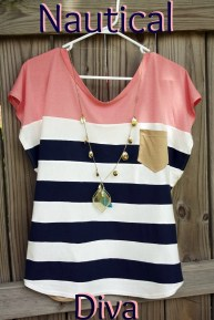 Easy Sewing Patterns Free Trendy Nautical Womens Top Free Sewing Pattern