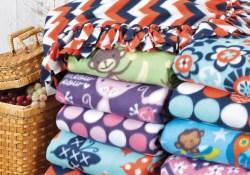 Fleece Sewing Projects No Sew Fleece Blanket Diy Fleece Throw Joann