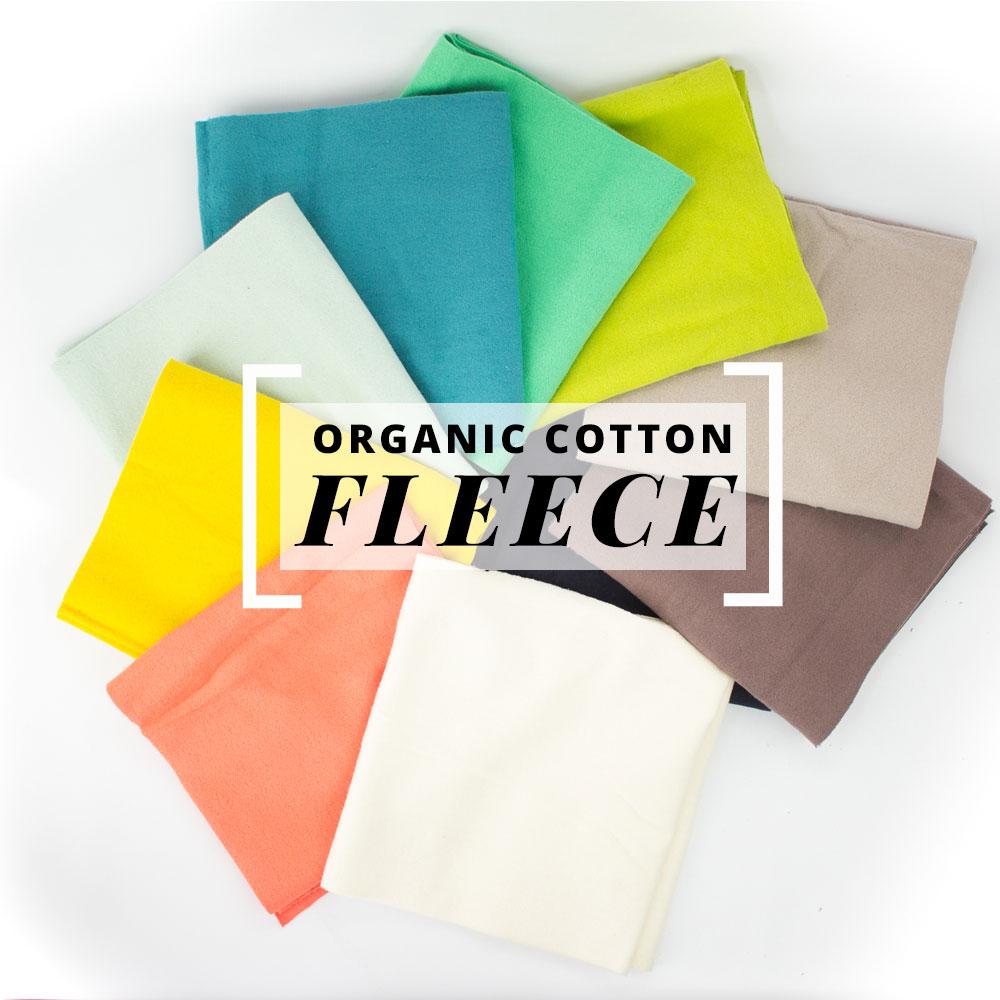 Fleece Sewing Projects Now Shipping Birch Organic Cotton Fleece Birch Fabrics