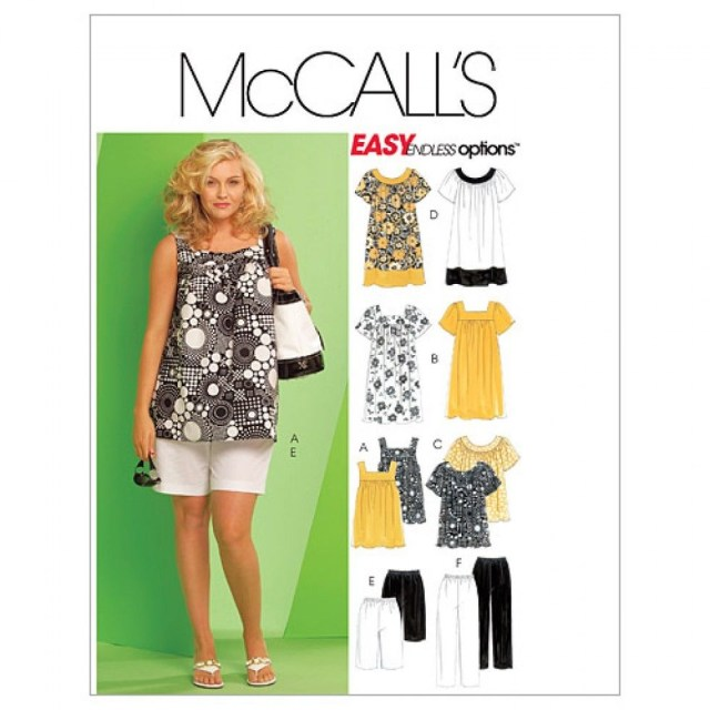 Free Plus Size Sewing Patterns Free Uk Pp Mccalls Ladies Plus Size Easy Sewing Pattern 5640 Tops