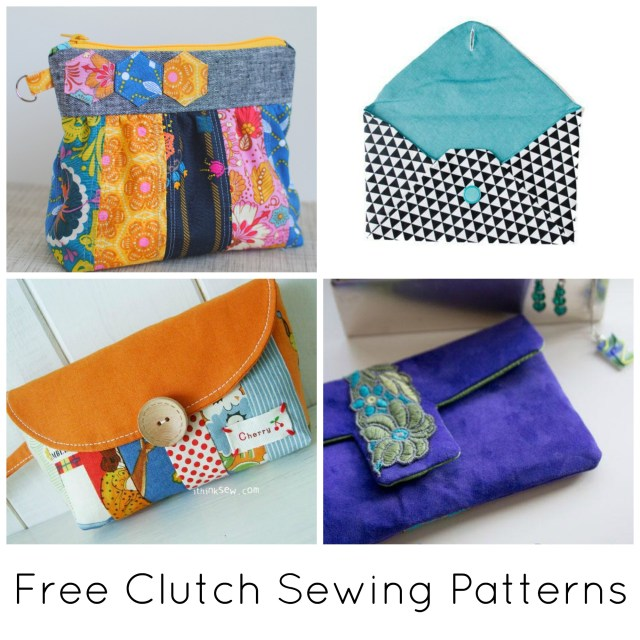 Free Sewing Patterns 10 Free Clutch Sewing Patterns To Bust Your Stash