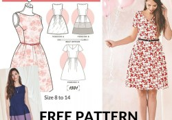 Free Sewing Patterns 20 Gorgeous Free Sewing Patterns For Dresses Sewing Pinterest
