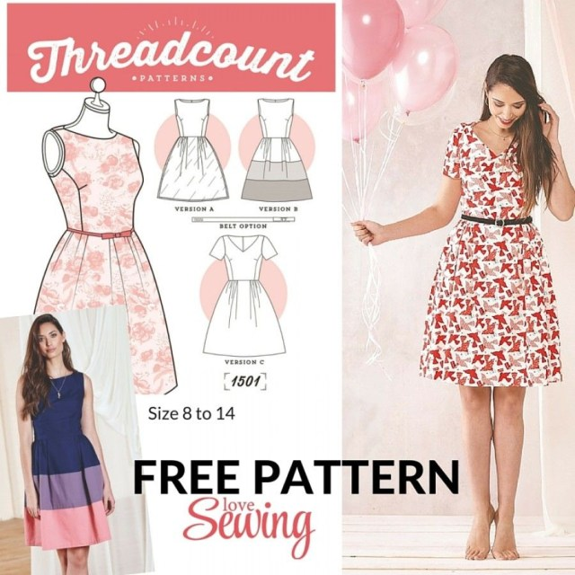 Free Sewing Patterns For Beginners 20 Gorgeous Free Sewing Patterns For Dresses Sewing Pinterest
