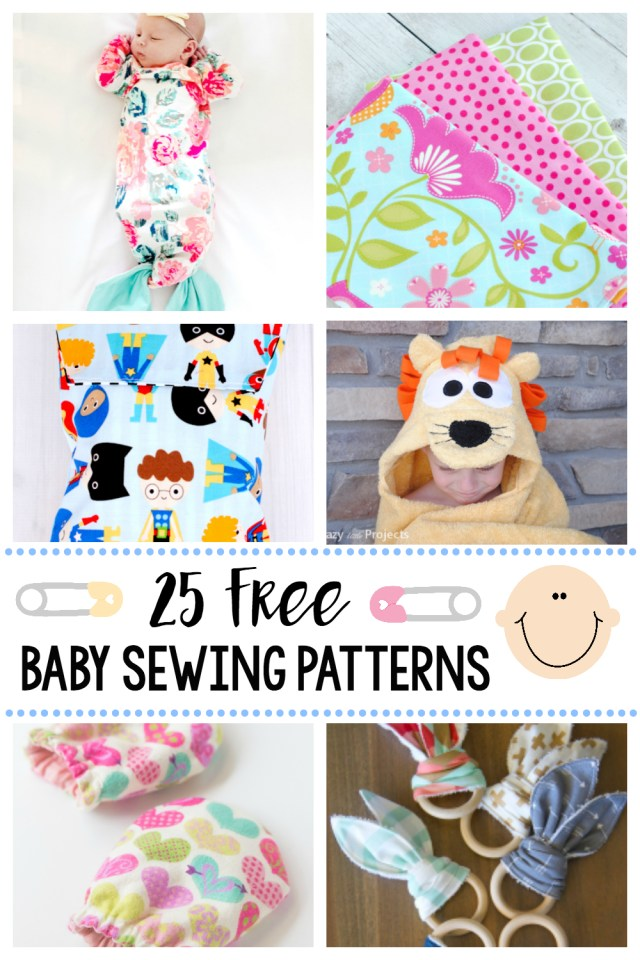 Free Sewing Patterns For Beginners 25 Things To Sew For Ba