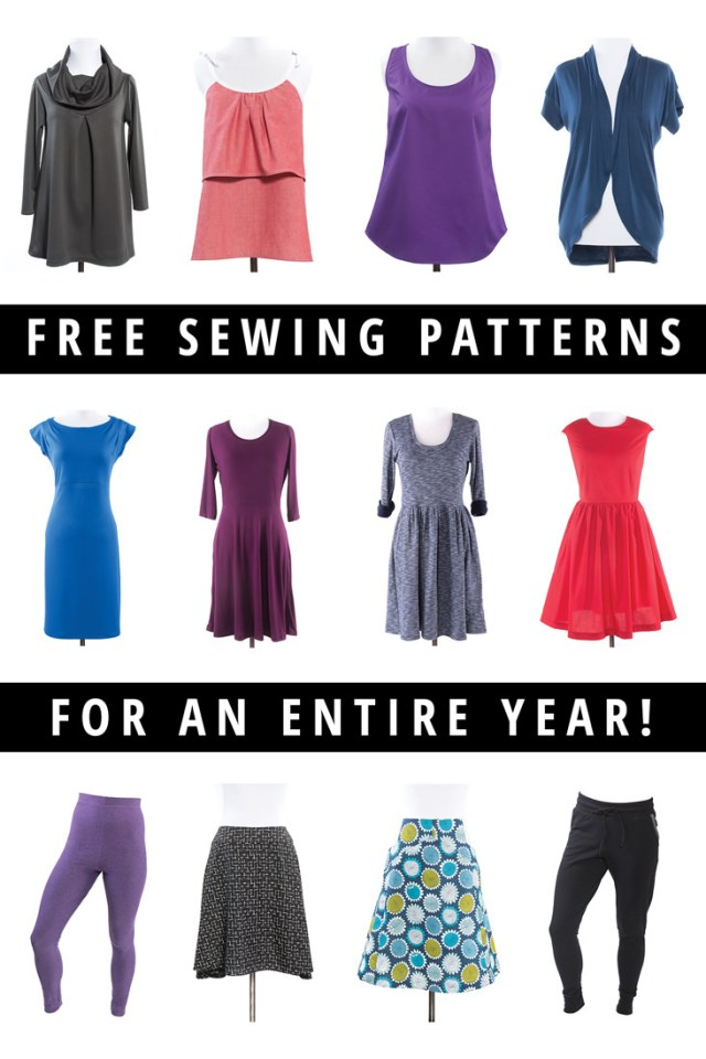 Free Sewing Patterns Giveaway Win A Year Of Free Sewing Patterns Indiesew