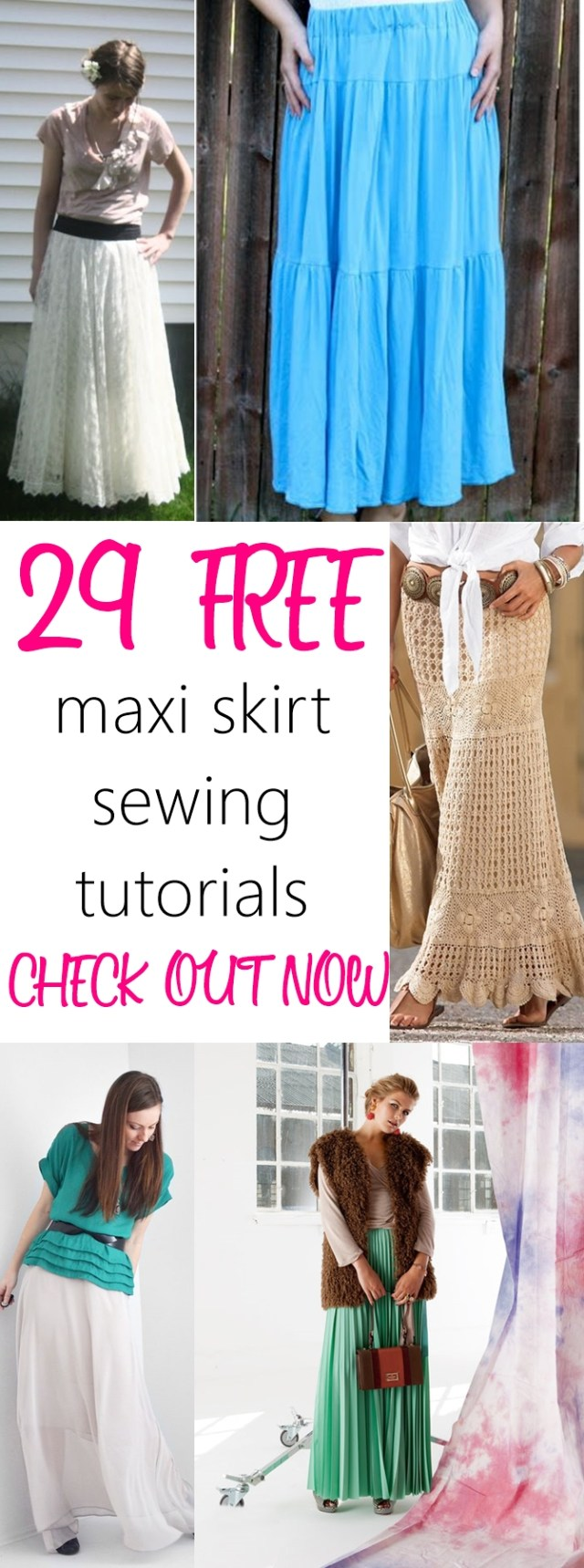 Free Sewing Patterns Maxi Skirts Free Sewing Patterns And Tutorials
