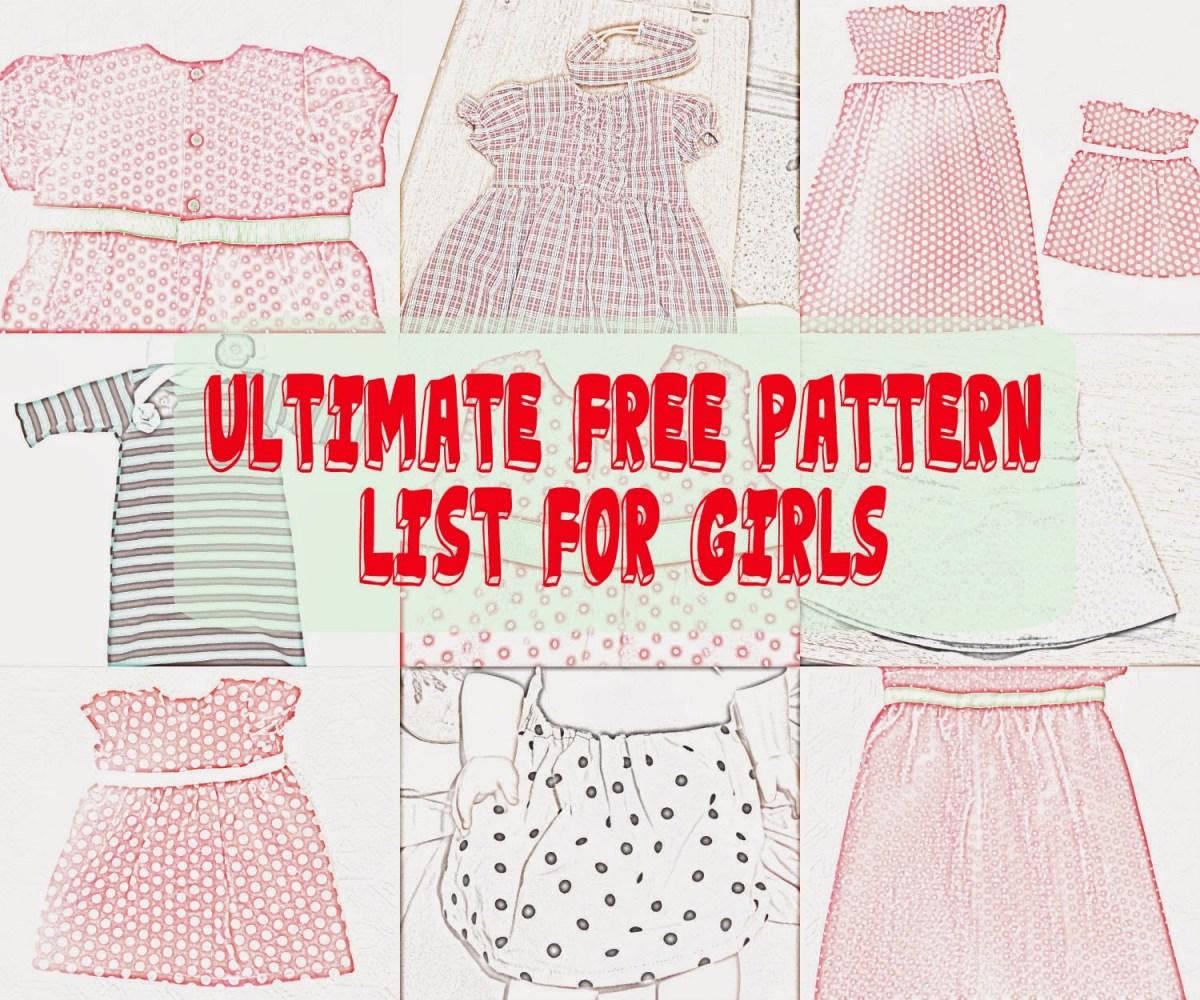 Girls Sewing Patterns Seemesew Free Girl Patterns