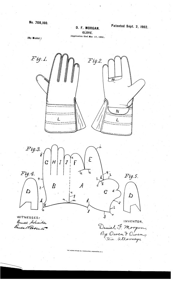 Glove Sewing Pattern 1902 Df Morgan Glove Pattern Gloves Patterns Pinterest